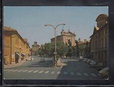 Cartolina Lugo Piazza Trisi e Chiesa S. Maria del Carmine HF42