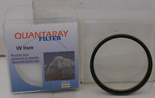 Quantaray 55mm UV Haze Lens Filter with Case Made in Japan