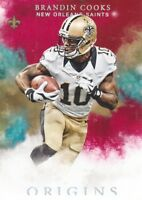 2016 Panini Origins Red #87 Brandin Cooks New England Patriots