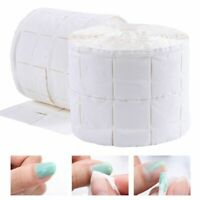 Cotton Nail Wipes Remover Polish Cleaner Lint Paper Pad Soak Art Manicure Roll