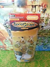 Heroscape Gladiators and Agent NIB from Wave 5 Thora's Vengeance