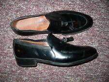 Vintage Men's Black Leather Loafers ALLEN EDMONDS Ethan Sz 11,  Made in USA