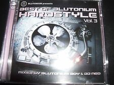 Blutonium Presents Blutonium Hardstyle Best Of Vol / Volume 3 Various 2 CD