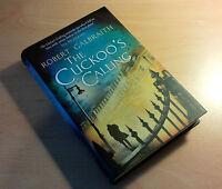 Robert Galbraith J.K.Rowling The Cuckoo's Calling UK 1st edition 1st Reprint