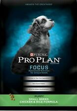 1 Purina Pro Plan Hg Protein Small -PUPPY-Breed Chicken & Rice Formula Dry 6 lbs