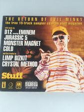 Return Of Evil Minky CD 15TRACKS Rock Metal w/Monster Magnet, Eminem, Toadies +