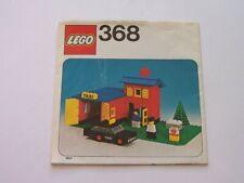 LEGO® Bauanleitung / Instruction Nr. 368