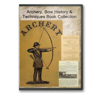 Archery Bow & Arrow Longbow Shortbow Composite Spalding More 21 Books - CD B485