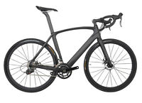 700C Road Bike 11s Disc brake Full Carbon AERO Frame Wheels Racing Bicycle 58cm