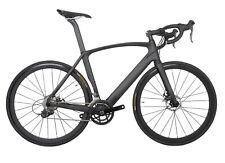 Road Bike Disc brake Carbon Frame Fork Racing Full Bicycle Wheels 49cm 11s 700C