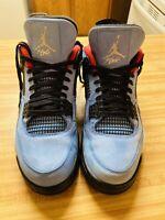 Air Jordan Retro 4 Travis Scott Cactus Jack Size 10.5 308497 406