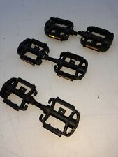 Vintage Lot of 3 pairs of never used Wellgo K79 Metal Pedals classic BMX pedal.