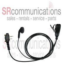 Earbud headset W/PTT for Icom F3001 F4001 F3011 F4011 F21 F24 F11 F4021S F3021S