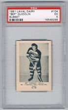 1952 Laval Dairy Subset Hockey Card Ottawa Senators Bep Guidolin Graded PSA 5