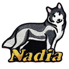 Iron-on Dog Patch With Name