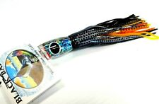 Black Bart Mini 1656 Angled Big Game Trolling Lure Medium Paua Black Dot Yellow