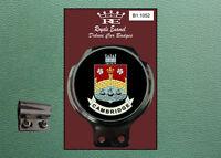 Royale Classic Car Badge /& Bar Clip B1.1210 SALFORD CITY TOWN MANCHESTER