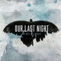 """OUR LAST NIGHT """"WE WILL ALL EVOLVE"""" CD NEU"""