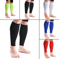 Compression Calf Sleeve Brace Leg Stockings Socks Calf Tights Shin Support MKO