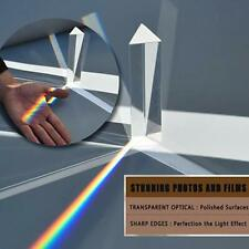 "Photography Prism - 6"" Premium Optical Glass 150mm - Rainbow Maker Triangular Y"