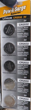 5 Batteries-Panasonic Pow R Surge Cr2032 3V Lithium Coin Watch Battery Exp 2030