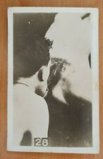 French risque woman NAKED original old 1920s  photo postcard NUDE