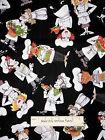 Loralie Chef Fabric - What's Cookin Loralie Harris Man Woman Cook Kitchen - Yard
