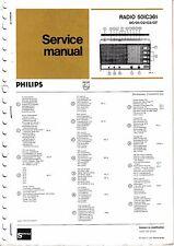 Manuel d'instructions service pour Philips 50 IC 361