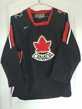 Team Canada Black 2006 Nike Size L / XL IIHF NHL Black Hockey Jersey