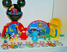 Disney Mickey Mouse Clubhouse Deluxe Playset with Figures and Accessories Toy