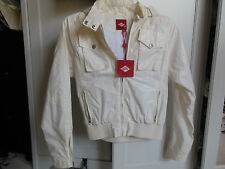 OILILY KID'S WHITE EVERYDAY JACKET WITH REMOVABLE HOOD *NWT* - Size 12