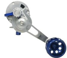SEIGLER LARGE GAME NARROW LEVER DRAG REEL (LGN) BLUE