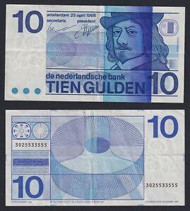 Olanda 10 gulden 1968 BB+/VF+  C-05