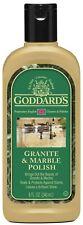 Granite & Marble Polish Cleaner Brand New Goddards 8 oz Bottle