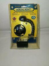 Coralife Aqualight 1watt Blue Moon Glow LED Light w/track mount & universal base