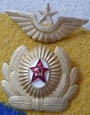 Badge- Soviet Russian USSR Air Force Officer Uniform Badge