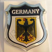 Aufkleber Wappen Deutschland 3D Kfz-Aufkleber Deutschland Emblem Motorrad Auto