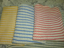 New Dishcloth 3 pack Made in USA Heavyweight cloth dish wash, clean counter