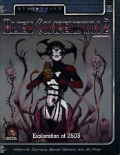 Alternity Alien Compendium 2 Exc+! Star Drive Monster Manual Tsr Two Sci-Fi