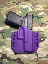 Purple Kydex Glock 19 GEN5 Holster