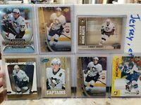 Sidney Crosby Rookie Card Lot 2005 06 upper deck parkhurst RC near mint 7 cards