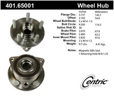 Axle Bearing and Hub Assembly-Premium Hubs Rear Centric fits 13-19 Lincoln MKT
