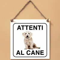 Glen of Imaal Terrier 2 Attenti al caneTarga cane cartello Ceramic Tiles