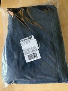 RRL Ralph Lauren Fully Lined Filled Indigo Quilted Cotton Sweat Pant Men's S