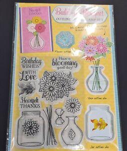 Build - a- Bouquet Die & Stamp Set
