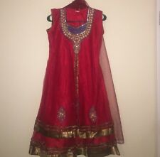 Red Indian dress