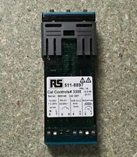 CAL 3300 PID Temperature Controller, 2 Output Relay, SSD, 12 24 V ac/dc