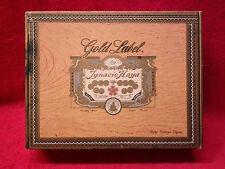 Vintage Collectible Gold Label Palmas Candela Cigar Box