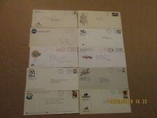 Cba Lot of 10 Vintage Defunct Dated Team Logo Basketball Business Envelopes
