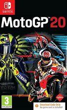 MotoGP 20 Nintendo Switch Video Juego Original Perfecto estado UK release